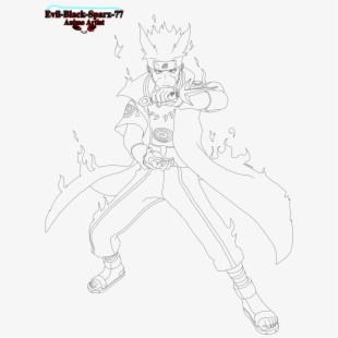 Naruto Naruto Nine Tails Pixel Transparent Cartoon Free