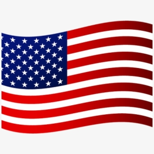 American flag moving. Clipart waving clip art
