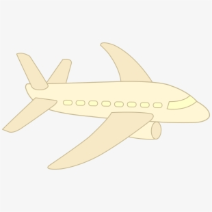 Simple Aircraft Simple Pictures Of Planes Transparent Cartoon