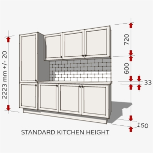 Tile Drawing Kitchen Cabinet Section - Face Frame Cabinet ...
