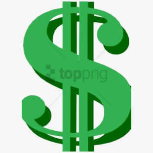 Dollar sign small. Png icon transparent cartoon