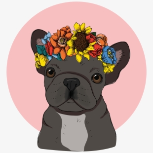 French Bulldog Transparent Cartoon Free Cliparts