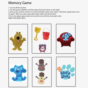 Http - //www - Familyshoppingbag - - Blues Clues Party Games ...