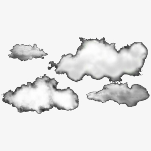 Aesthetic Cute Clouds Background Transparent Cartoon Free Cliparts Silhouettes Netclipart