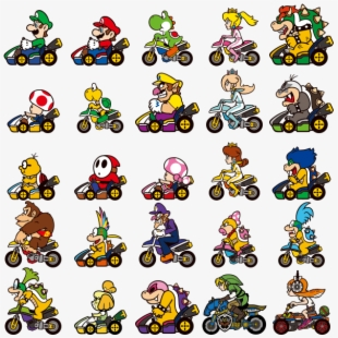 Mario Kart , Transparent Cartoon, Free Cliparts & Silhouettes
