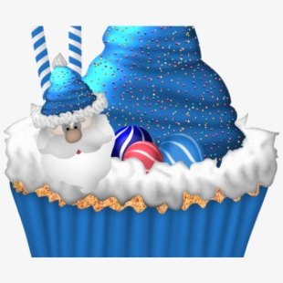 Birthday Cupcake Clipart Christmas Transparent Cartoon