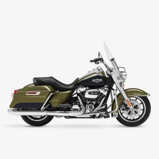 Harley davidson road king. Clipart cartoon transparent free