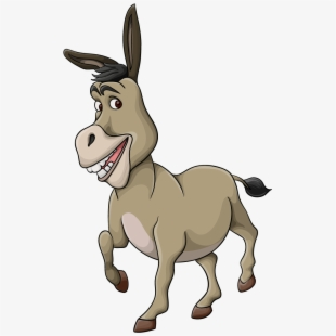 Image result for free clipart of a jackass