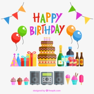 Download Happy Birthday Png Transparent Image - Happy