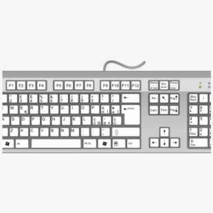 Keyboard Clipart Draw Computer Keyboard And Mouse Top Down Transparent Cartoon Free Cliparts Silhouettes Netclipart