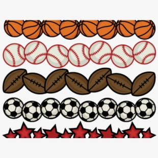 Download Transparent Background Sports Clipart Borders Sports Balls Transparent Background Transparent Cartoon Free Cliparts Silhouettes Netclipart