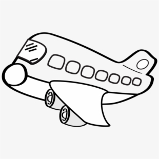 Airplane Illustration In Flight Free And Png Ⓒ - Flying ...