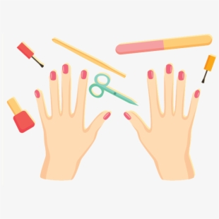 Unique Nails , Logo Manicure E Pedicure Png , Transparent