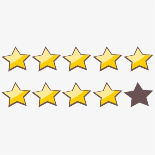 Star Rating 4 Out Of 5 Transparent Cartoon Free Cliparts