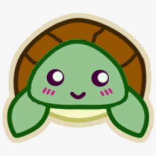 Clipart Wallpaper Blink Cute Kawaii Sea Turtle Drawing Transparent Cartoon Free Cliparts Silhouettes Netclipart
