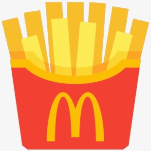 Mcdonalds French Fries Icon Transparent Cartoon Free Cliparts