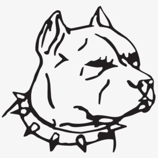 Face Pitbull Dog Drawing Transparent Cartoon Free Cliparts