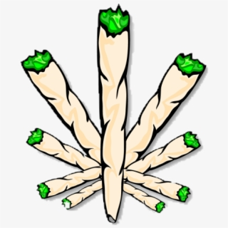 Joint Cannabis Smoking Drawing Joint Weed Clip Art Transparent Cartoon Free Cliparts Silhouettes Netclipart
