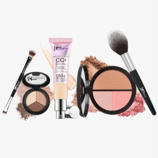 Makeup Kit Products Clipart Png , Cosmetic Items