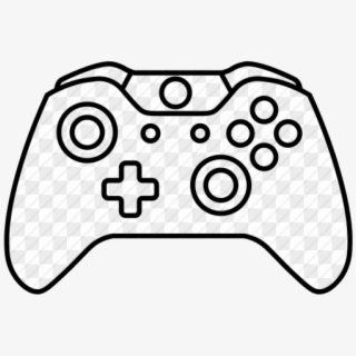 Xbox Controller Line Drawing Draw Free Transparent Drawing Of A
