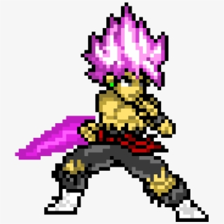 Goku Blue Pixel Art Transparent Cartoon Free Cliparts