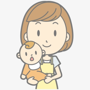 Clip Art Baby And Mom Clipart Drawing Of A Mother Transparent Cartoon Free Cliparts Silhouettes Netclipart