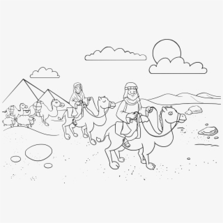 Abraham And Sarah Bible Stories Coloring Pages For Kids #dfm ... | 320x320