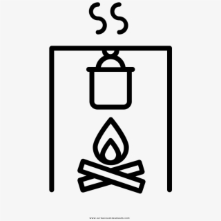 Cooking Pot Coloring Page - Ultra Coloring Pages | 320x320