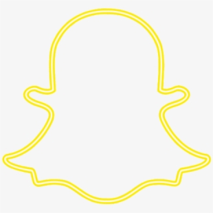 Snapchat Icon Png Neon Snapchat Logo Png Transparent Cartoon Free Cliparts Silhouettes Netclipart