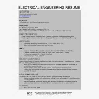 Sample Resume For Software Engineer With One Year Experience