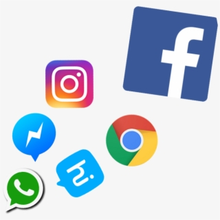 Messenger Icon Instagram Social Media Png For Picsart Transparent Cartoon Free Cliparts Silhouettes Netclipart