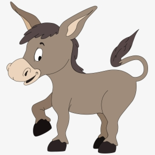 PNG Donkey Cliparts & Cartoons Free Download - NetClipart