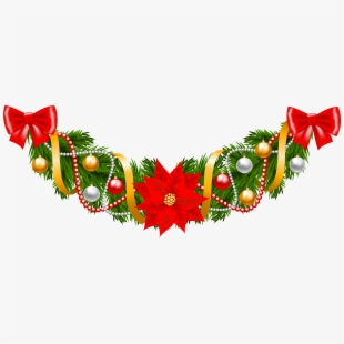 Christmas Garland Clipart.Png Christmas Garland Cliparts Cartoons Free Download