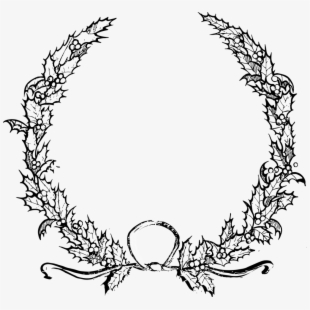 Garland Clipart Black And White