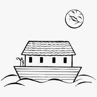Boat House Clipart Boart - Easy To Draw Noah's Ark ...