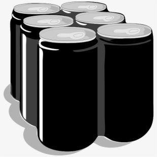 Six Pack Beer Vector Transparent Cartoon Free Cliparts Silhouettes Netclipart