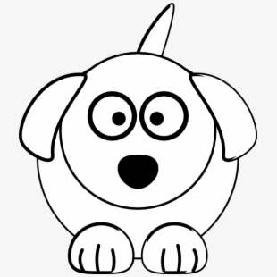Dog Bone Clip Art Black And White Anime Dog Draw Easy