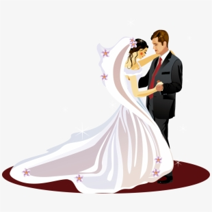 Wedding Invitation Bridegroom Clip Art Happy Marriage Anniversary Couple Transparent Cartoon Free Cliparts Silhouettes Netclipart