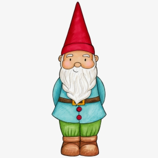 Colorful cute garden gnome Royalty Free Vector Image