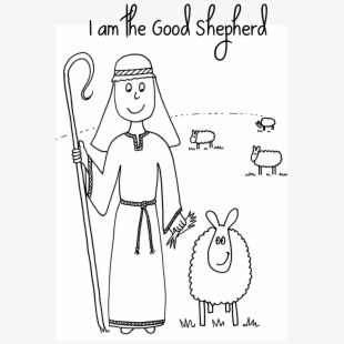Rcgykebei Free Good Shepherd Coloring Pages Download Clip Art ...   310x310