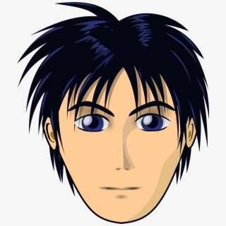 28 Collection Of Black Hair Wig Boy Clipart Male Hair