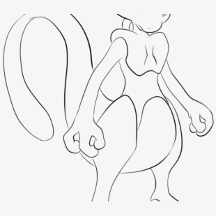 Pokemon Mewtwo Coloring Page by years old Jack 8 | 310x310